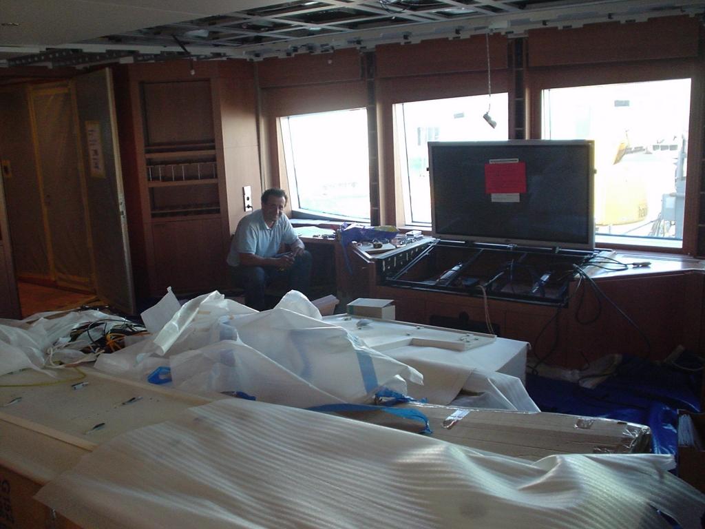 instalado en yate de 42m