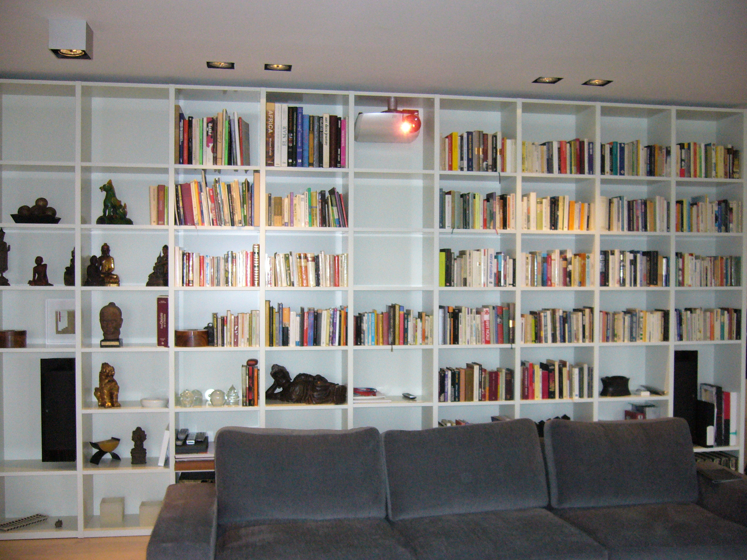Integración en salón biblioteca